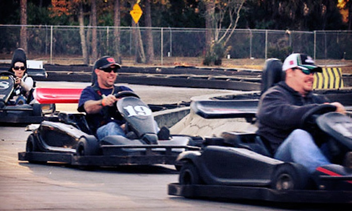 Speed Park Motorsports - International Speedway Blvd : $21 for Three Go-Kart Rides, One Dragsters Ticket, and $5 Arcade Card at Speed Park Motorsports ($43 Value)