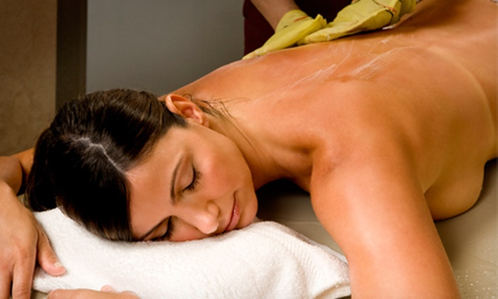 Tribeca Spa of Tranquility - Tribeca: Body Scrub with Option for European Facial or Mani-Pedi with Reflexology at Tribeca Spa of Tranquility (Up to 63% Off)