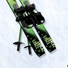 Kids' Beginner Snow Skis with Poles