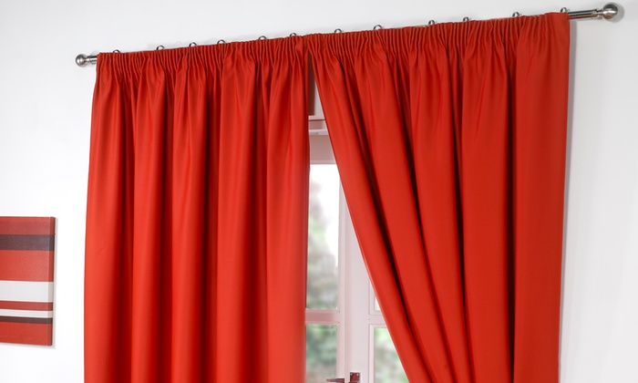 Clearance Blackout Curtains Groupon