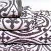 4-Piece Jacquard Towel Set