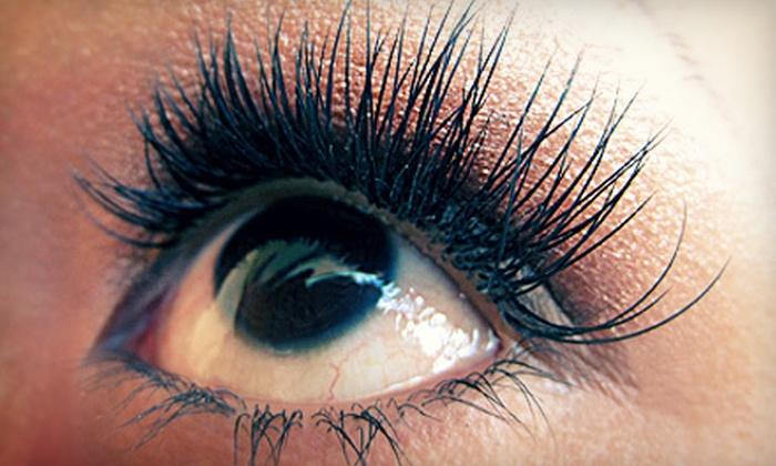 Poshe' Skincare Salon - San Diego: Medium or Maximum Full Eyelash Extensions at Poshe' Skincare Salon (Up to 54% Off)