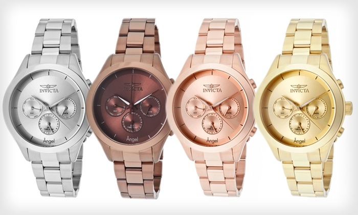 Invicta Women's Angel Watch: $75 for an Invicta Women's Angel Watch ($795 List Price). Four Colors Available. Free Shipping and Free Returns.
