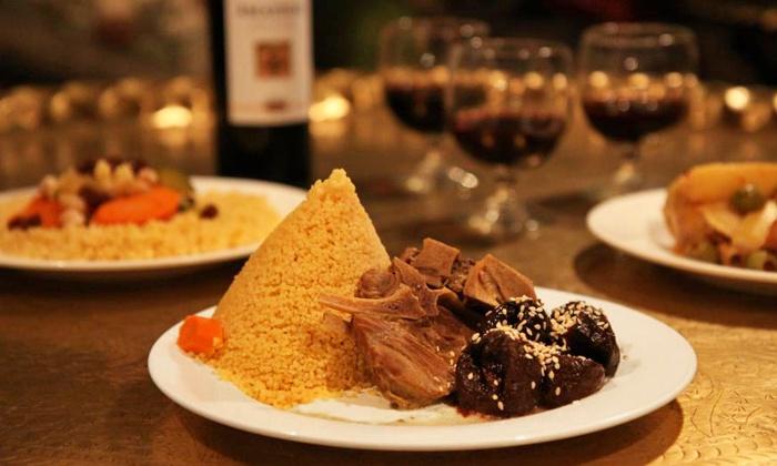 Moroccan food babouch moroccan restaurant groupon for Aicha moroccan cuisine san francisco