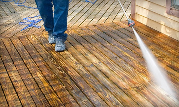 Xpress Detail & Pressure Washing - Houston: Pressure Washing on One- or Two-Story House from Xpress Detail & Pressure Washing (Up to 56% Off)