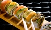 Sushi Spott - Murphy's Corner Plaza: Sushi Meal with Pot Stickers and Hot Sake for Two or Four at Sushi Spott (Up to 55% Off). Three Options Available.