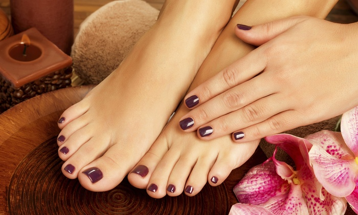 Swanq Style Studio - SWANQ Style Studio: $29 for a Manicure and Pedicure at Swanq Style Studio ($60 Value)
