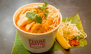 Thairiffic Rice & Noodle Bar - Australia Square: $6.50 for a Choice of Pad Thai or Soup at Thairiffic Rice & Noodle Bar - Australia Square, CBD (Up to $13 Value)
