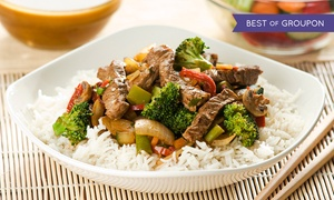 Cravin Thai: Thai Cuisine and Drinks at Cravin Thai (Up to 45% Off). Four Options Available.