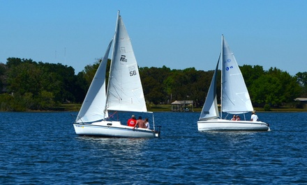 Introductory Sailing for Two or Four at Lake Fairview Marina (Up to 54% Off)