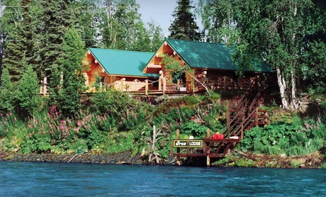 Cabins near Prime Salmon Fishing in Alaska