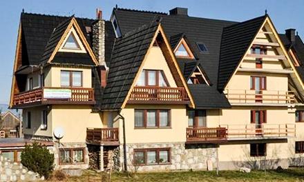 Białka Tatrzańska: 1-7 nocy dla 2 lub 3 osób w DW Skorusa – terminy do września, w tym wakacje i długie weekendy