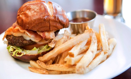 Gastropub Breakfast, Lunch, or Dinner Food for Two at Black Cat Bar and Grill (Up to 50% Off)