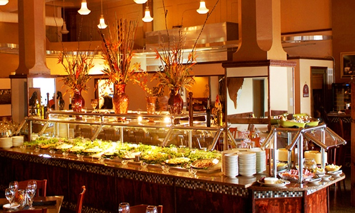 Cowboy Brazilian Steakhouse - Multiple Locations: Dinner and Wine for Two at Cowboy Brazilian Steakhouse. Two Options Available.