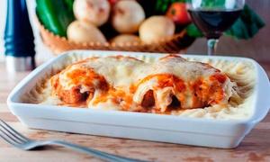 Restaurante Casarrara: Filé mignon à parmegiana para 2 ou 4 pessoas no Restaurante Casarrara – Matatu