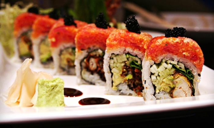 Fushimi Modern Japanese Cuisine and Lounge - Dongan Hills: Sushi Meal for Two or Four at Fushimi Modern Japanese Cuisine & Lounge (54% Off)