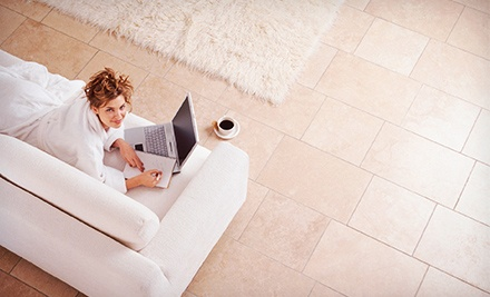 $185 for Tile-and-Grout Cleaning and Sealing for Up to 1,100 Square Feet from Valleywide Stonecare ($570 Value)