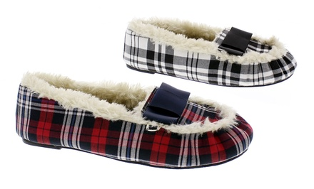 Isaac Mizrahi Women's Moccasin Slippers
