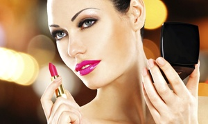 Salon Dahlia: Makeup-Application Class with Optional Blowout at Salon Dahlia (Up to 55% Off). Three Options Available.
