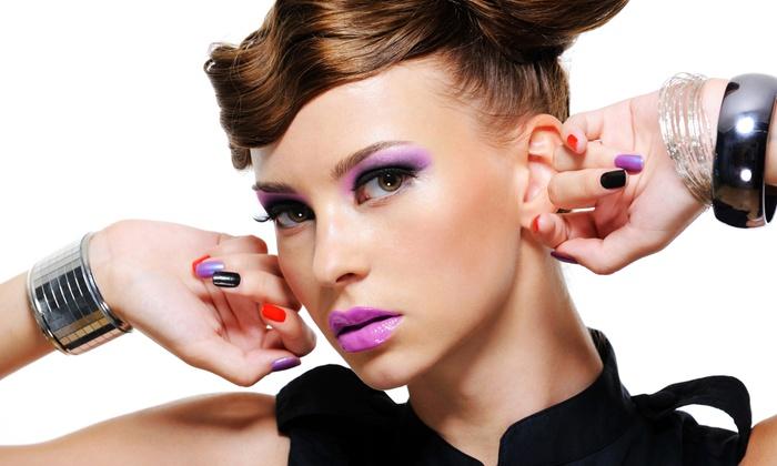 Beautiful Sisters Nail Spa - South Shore: Razor Brow Shape with Individual Lashes at Beautiful Sisters Nail Spa ($25 Value)