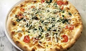 E Nespuli: Menu con pizza a scelta più birra o calice di vino per 2 o 4 persone al ristorante E Nespuli (sconto fino 59%)