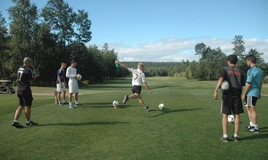 Golf le Sélect: One Game of FootGolf for Two or Four at Golf le Sélect (Up to 54% Off)