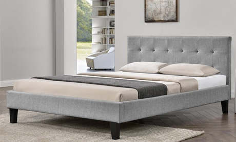 Blenheim Fabric Bed Frame or Bed Frame with Mattress With Free Delivery