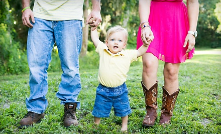 $79 for a Family Photo-Shoot Package with Hair and Makeup from Goddess Yourself Photography ($675 Value)