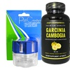 Garcinia Cambogia Dietary Supplement (60-Count) and Pill Crusher