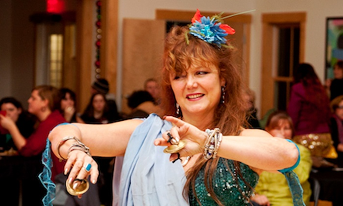 The Dancing Spirit Studio - Tiverton: $75 for 10 Belly-Dancing Classes at The Dancing Spirit Studio (Up to $180 Value)