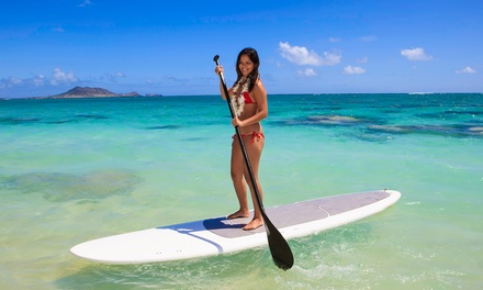 90-Minute Paddleboard Lesson for Two or Four from One Heart SUP (Up to 53% Off)