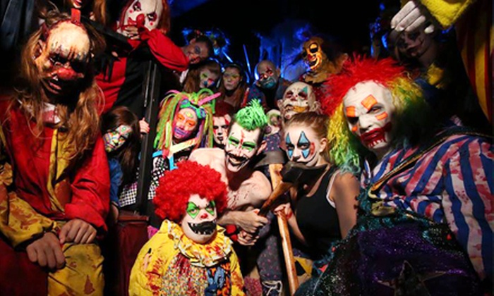 Massacre Haunted House - Odyssey West: Admission for One or Two to Haunted House and Fear Factory 3-D at Massacre Haunted House (43% Off)
