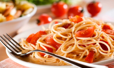 Italian Meal and House Wine for Two or Four at Gumba's Italian Restaurant & Pizzeria (Up to 49% Off)