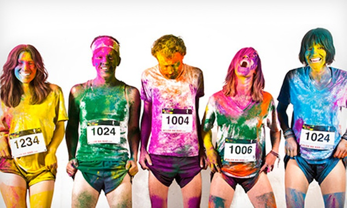 Rainbow Fun Run - Beechwood: $29 for 5K Color Run Entry to Rainbow Fun Run ($50 Value)