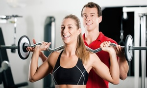 Premier Fitness: 5- or 10-Week Gym Membership with One Personal Training Session at Premier Fitness (Up to 93% Off)