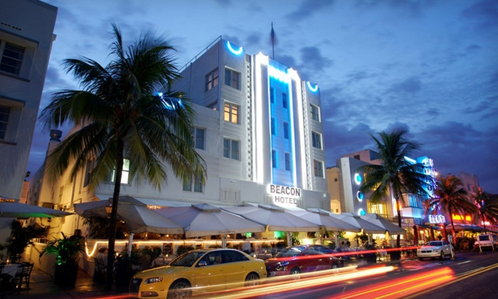 Beacon Hotel - Miami Beach, FL: One-Night Stay at Beacon Hotel in Miami Beach