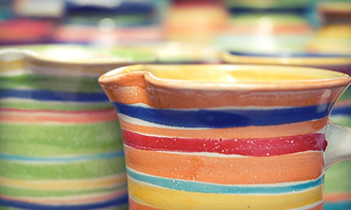 Do Art - Gainesville: $12 for a Pottery-Painting Package for Two Including Studio Fees and Credit Toward Future Painting at DoArt ($32 Value)