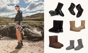 Water-Resistant 3/4 UGG Boots