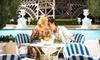 Soleil Pool at Paris Las Vegas - Las Vegas, NV: Food and Pool Outing for Four or Villa or Cabana Rental for Up to Eight at Paris Las Vegas (Up to 51% Off)