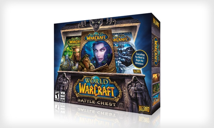 """World of Warcraft"" Battle Chest Game or Bundle Digital Download: ""World of Warcraft"" Battle Chest Game or Bundle with 30 Additional Days of Game Time (Up to 75% Off)"