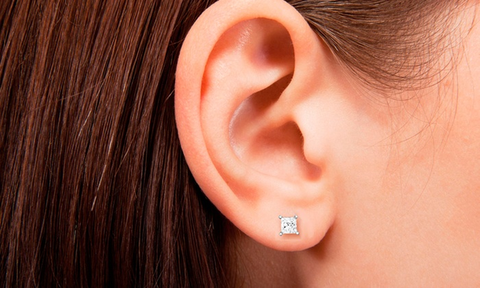 3 4 Carat Diamond Stud Earrings