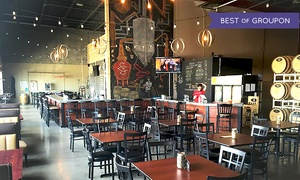 43% Off Tour and Six Pack at Lucky Bucket Brewing at Lucky Bucket Brewing Company & Cut Spike Distillery, plus 6.0% Cash Back from Ebates.