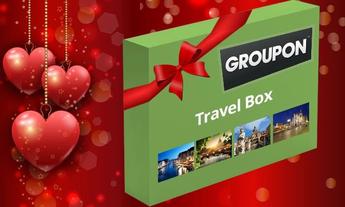 Amicoviaggi: Groupon Box - Cofanetto a scelta tra City a 49 €, Romantico Relax a 79 € o Deluxe a 149 €, spedizione inclusa