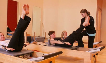 5 or 10 Pilates Barre-Fit or Mat Classes, or One Month of Unlimited Classes at Madison Pilates (Up to 61% Off)