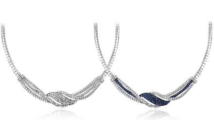 1/4 CTTW Diamond Twist Necklace