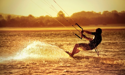 Semiprivate Two- or Four-Hour Kiteboarding Lesson for One or Two from Cosmic Kites Kiteboarding (Up to 59% Off)