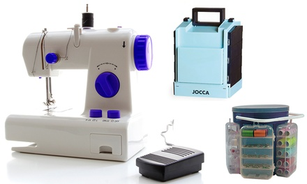 Máquina o kit para coser Jocca de 138 o 183 piezas