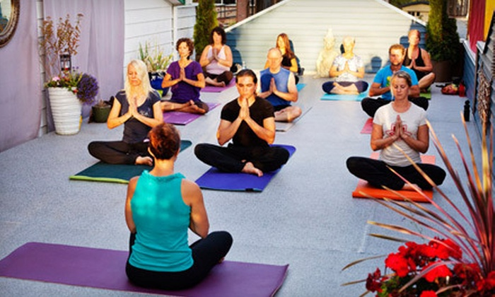 Iron Lotus Yoga - Mission: 5 or 10 Yoga Classes at Iron Lotus Yoga (Up to 55% Off)