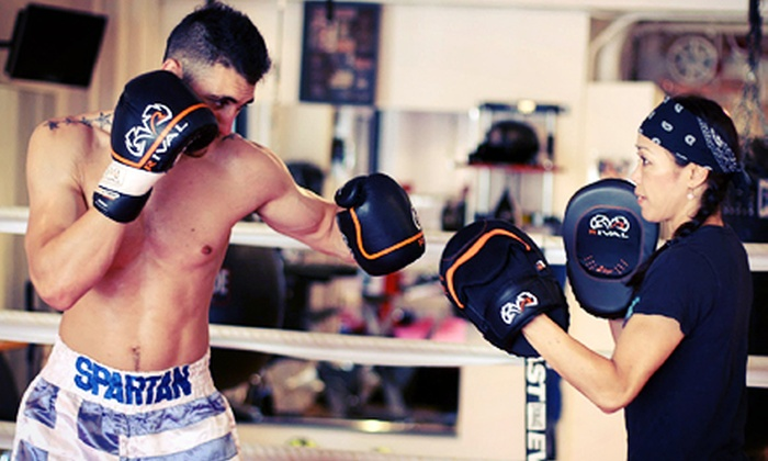 Spartan Elite Training - Upper East Side: One or Three One-on-One Boxing and Weight-Loss Sessions at Spartan Elite Training (Up to 63% Off)