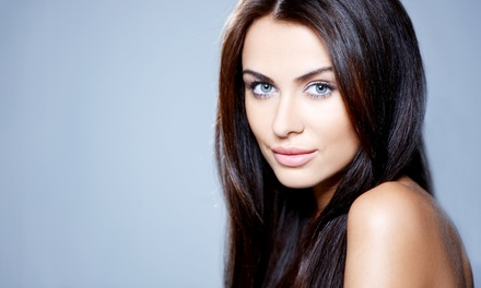 Haircut Package with Optional Highlights or Lowlights or Color from Nicole at Genesis Salon (Up to 57% Off)